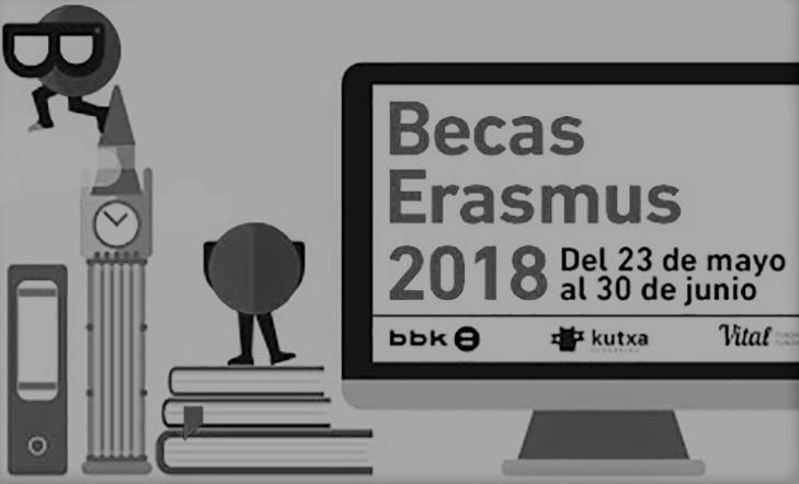 Becas Erasmus 2018/19