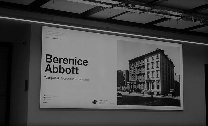 Berenice Abbott. Topografías | últimos días
