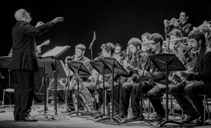 Actuación de Musikene Big Band bajo la batuta de Bob Sands