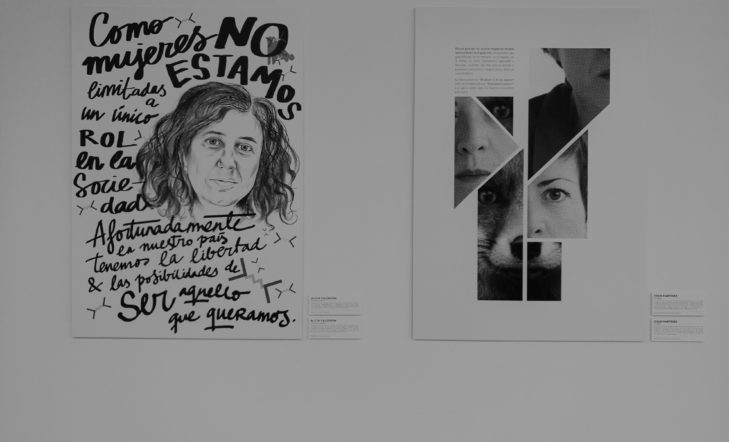 Retratos de mujeres líderes vistos por mujeres creativas