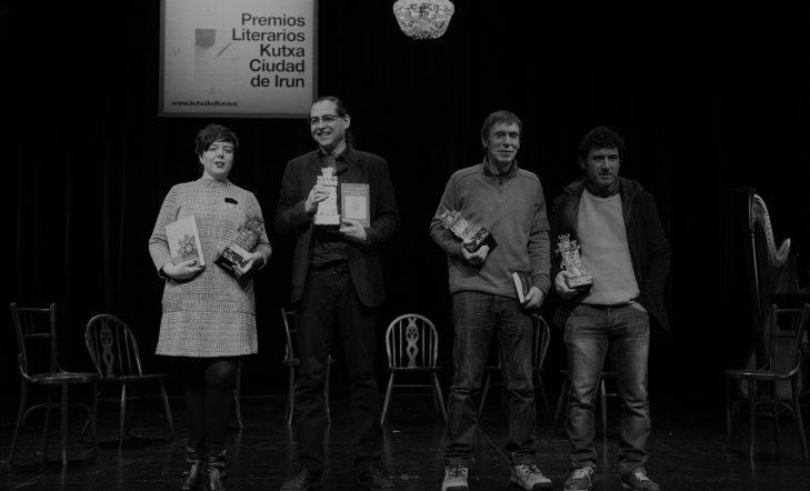 El pasado viernes se entregaron los Premios del 43 certamen literario Kutxa Ciudad de Irun