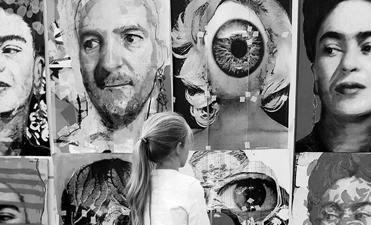Creatividad darwinista vs. Retrato | Jon Jauregi BANAIZ