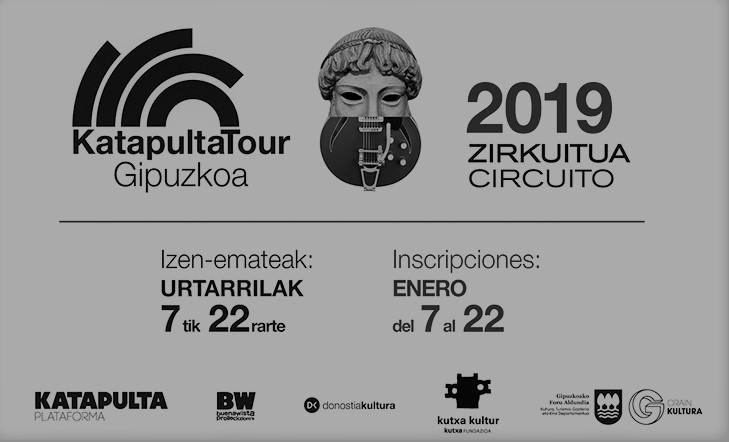 Katapulta Tour Gipuzkoa. Circuito 2019 | Convocatoria abierta