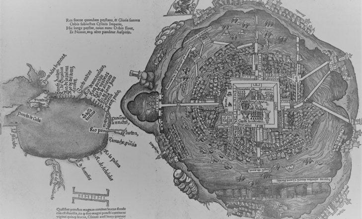 Aztekak  eta  Tenochtitlan