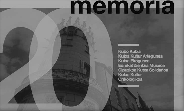 Publicada la Memoria de actividades 2020 de Kutxa