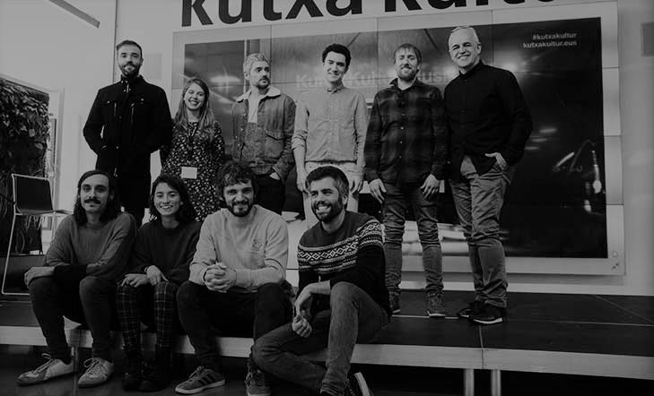 Hautatuak  Kutxa  Kultur  Musika  egoitza-programarako  sei  taldeak