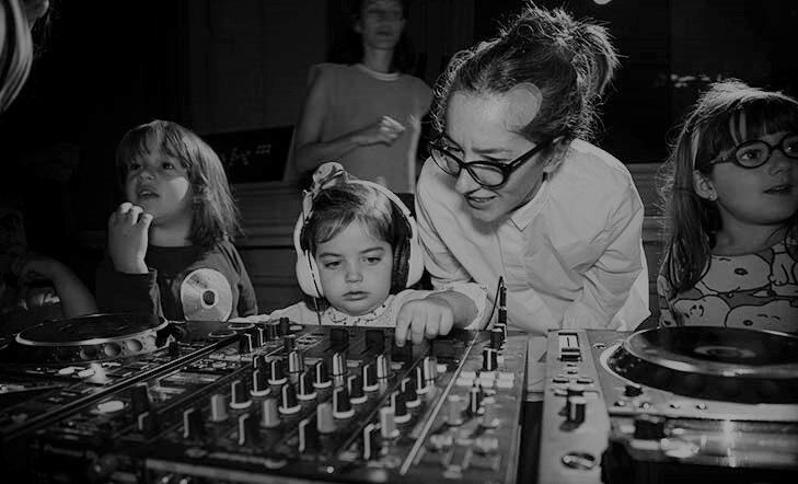 Música electrónica en familia con Bihotza