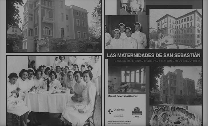 Las maternidades de San Sebastián | presentación de libro