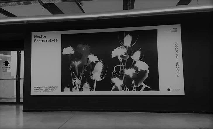 """Visita virtual """"Nestor Basterretxea. A través de la fotografía"""""""