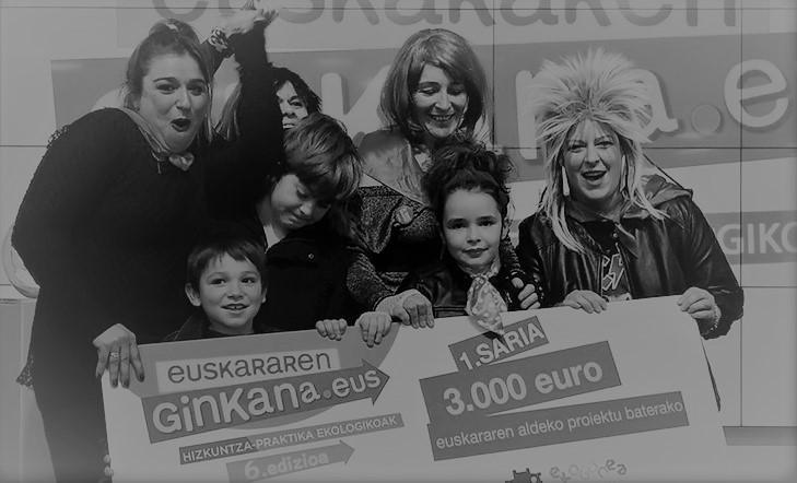 La Comisión de euskera de Harri Berri-Oleta gana la Euskararen Ginkana