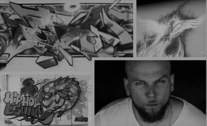Kero (graffiti) + Shintoma (beatbox-breakdance)