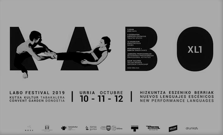 LABO  XL(1)  Donostian  egingo  den  Hizkuntza  Eszeniko  Berrien  Jaialdiaren  1.  edizioa