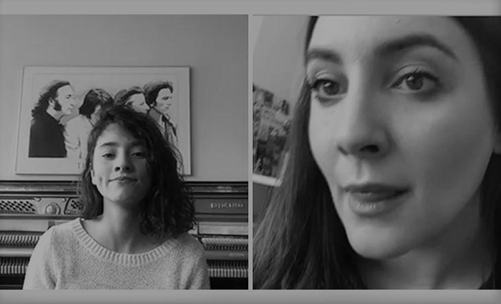 Ido y Leire ponen la voz a Kutxa Kultur Kanta