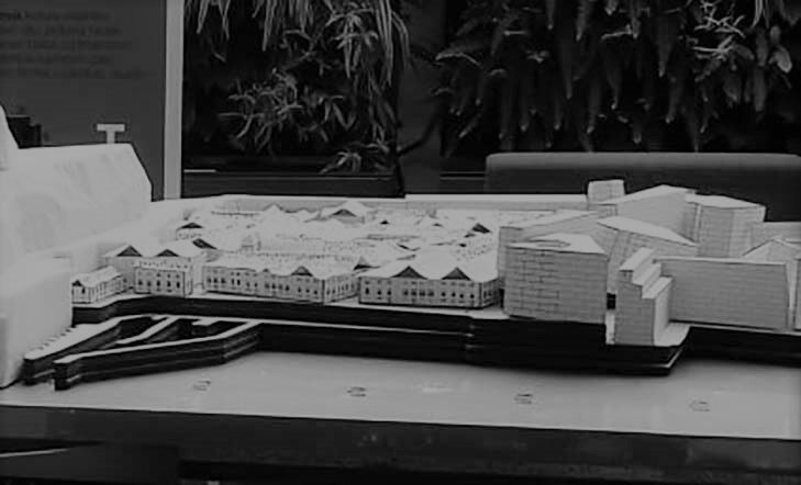 Maqueta de las murallas de Donostia