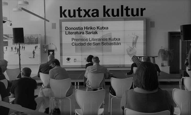 Ganadores | LV Premios Literarios Kutxa Ciudad de San Sebastián