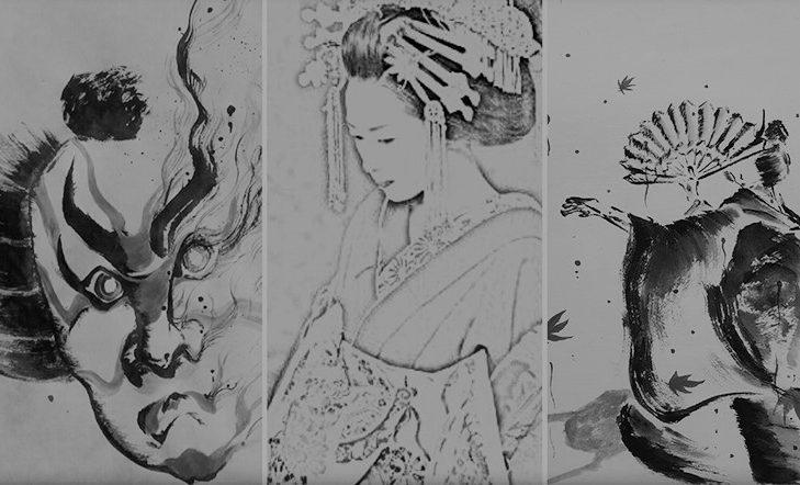 Teatro japonés   Juzo + Ken'o + Ainen